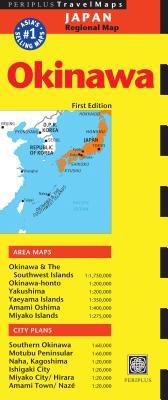 Periplus Travel Maps Okinawa & the Ryukyu Islands: Japan Regional Map