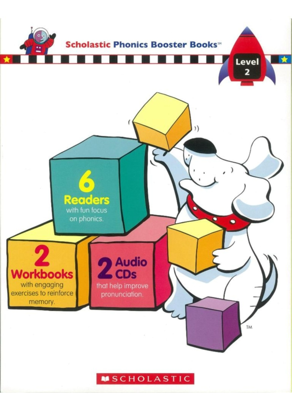 Scholastic Phonics Boosters Books Level 2: Readers(#7-12)