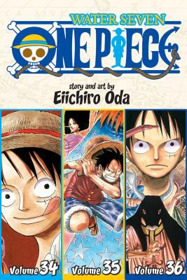 One Piece Water Seven 34~35~36: 3~in~1 Editio