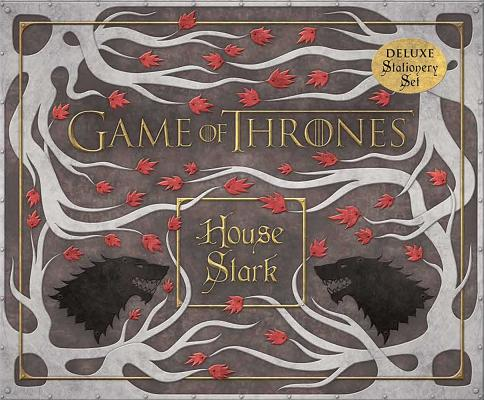 Game of Thrones ~ House Stark Deluxe Statione