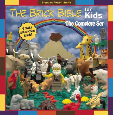 The Brick Bible for Kids: The Christmas Story, Jonah and the Whale, Daniel in the Lions Den, David and Goliath, Joseph and the C