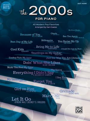 Greatest Hits the 2000s for Piano: 40 Modern