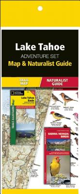 Lake Tahoe Adventure Set: Map & Naturalist Guide