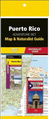 Puerto Rico Adventure Set: Map & Naturalist Guide