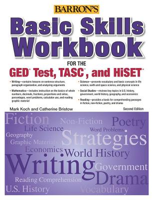 Basic Skills Workbook for the GED Test, TASC, and HiSET