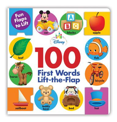 Disney 100 First Words Lift-the-flap