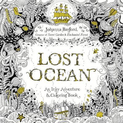 Lost Ocean: An Underwater Adventure and Coloring Book (《秘密花園》第三集)