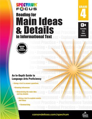 Reading for Main Ideas and Details in Informa