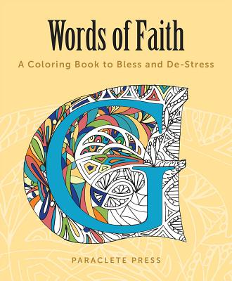 Words of Faith Adult Coloring Book: A Colorin