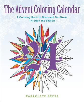 The Advent Coloring Calendar: A Coloring Book
