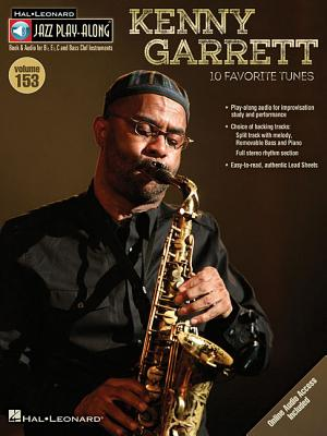 Kenny Garrett: Book and Audio for B flat, E flat, C and Bass Clef Instruments