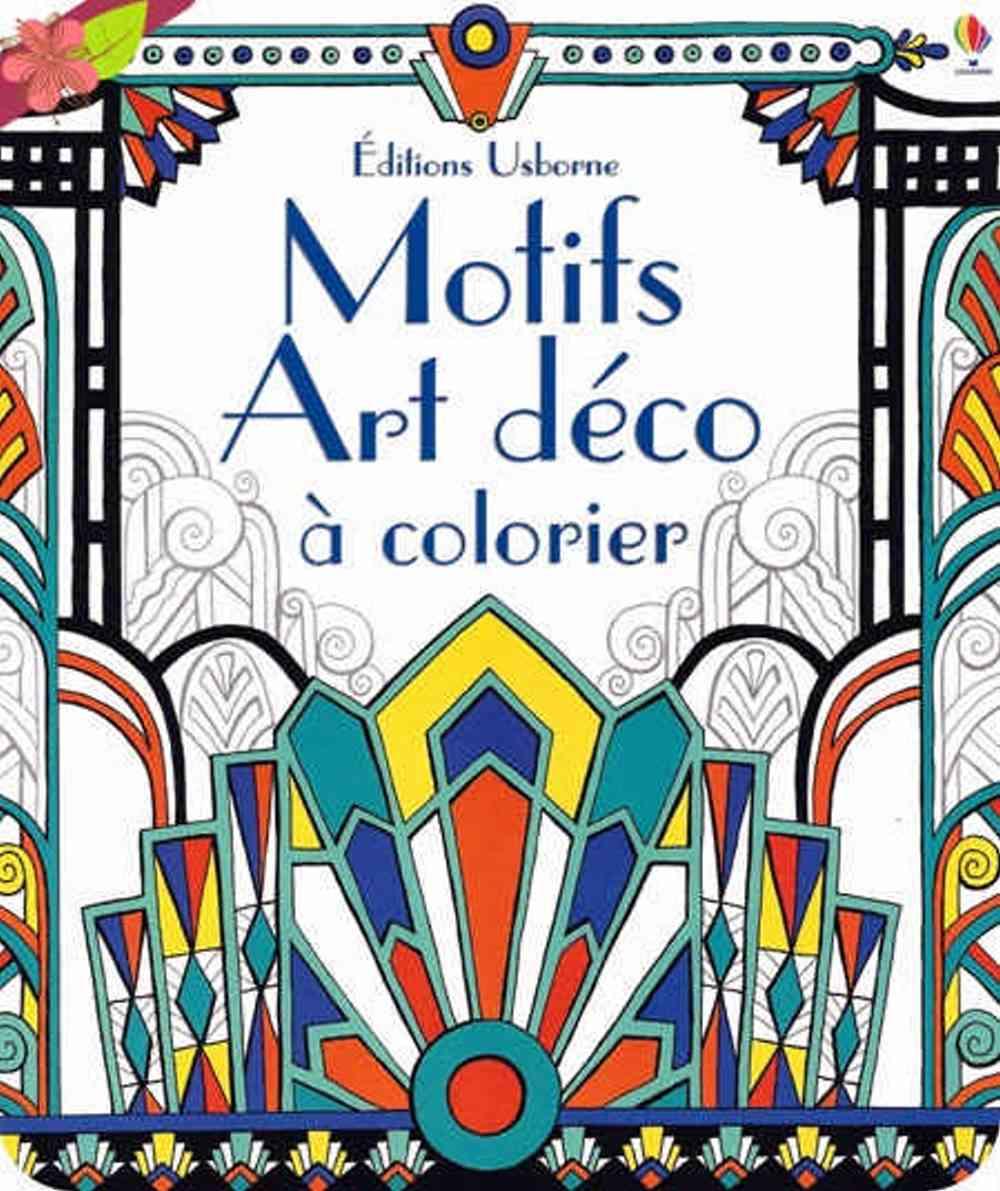 Art Deco Patterns to Colour
