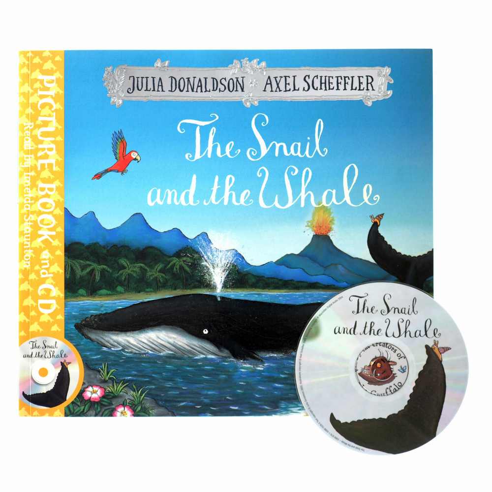 The Snail and the Whale Book and CD Pack
