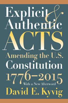 Explicit and Authentic Acts: Amending the U.S