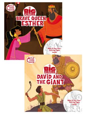 Brave Queen Esther  David and the Giant: Flip