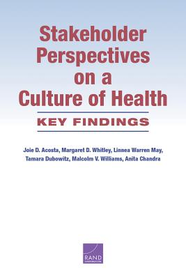 Stakeholder Perspectives on a Culture of Health: Key Findings