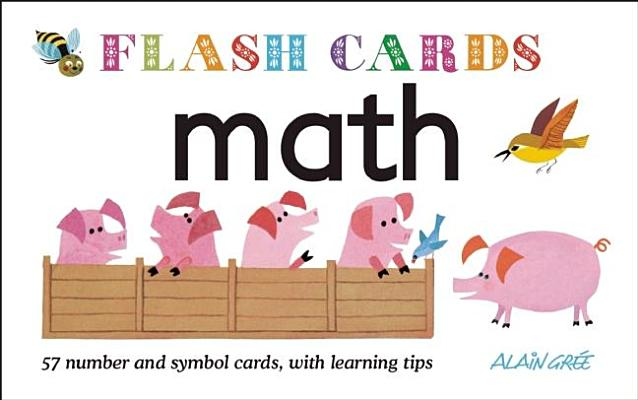 Math: 57 Number and Symbol Cards With Learnin