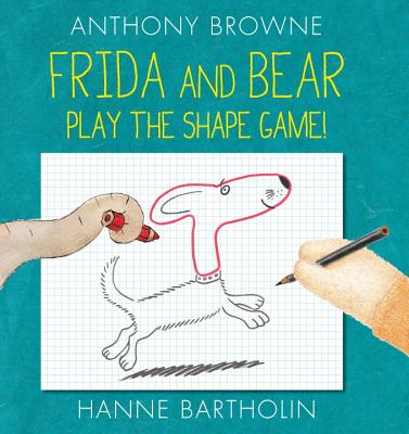 Frida and Bear Play the Shape Game^!