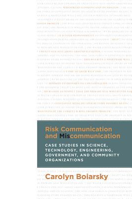 Risk Communication and Miscommunication: Case