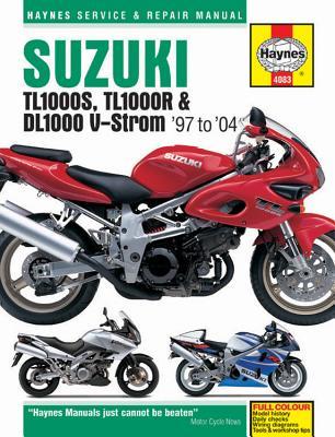 Haynes Suzuki TL1000S, TL1000R & DL1000 V-Strom '97 to '04 Serveic & Repair ManualRepair Manual