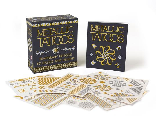 Metallic Tattoos: Temporary Tattoos to Dazzle and Delight
