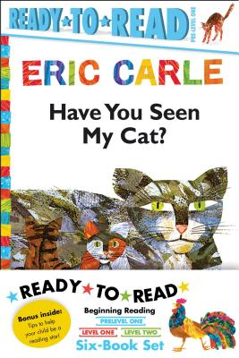 Eric Carle Ready-to-Read Value Pack: Have You Seen My Cat? / Walter the Baker / The Greedy Python / Rooster Is Off to See the Wo