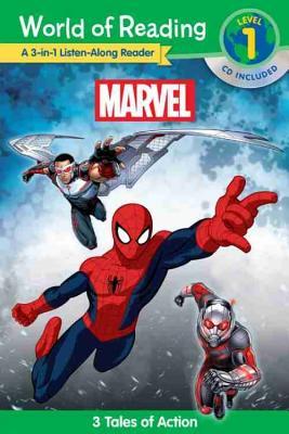 Listen Along Marvel: A 3-in-1 Listen-along Reader