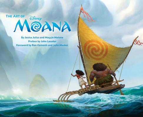 ART OF MOANA迪士尼動畫《海洋奇緣》電影美術設定集