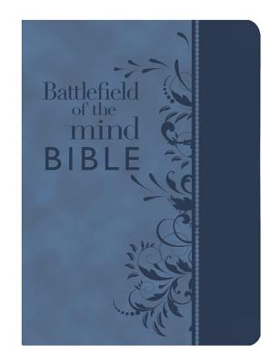 Battlefield of the Mind Bible: Amplified Version, Blue, Euroluxe, Fashion Edition, Renew Your Mind Through the Power of God's Wo