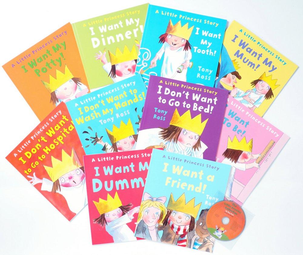 東尼‧羅斯《小公主養成計劃》套書 (10冊合售+1片CD) Little Princess 10 Books Pack + Audio CD