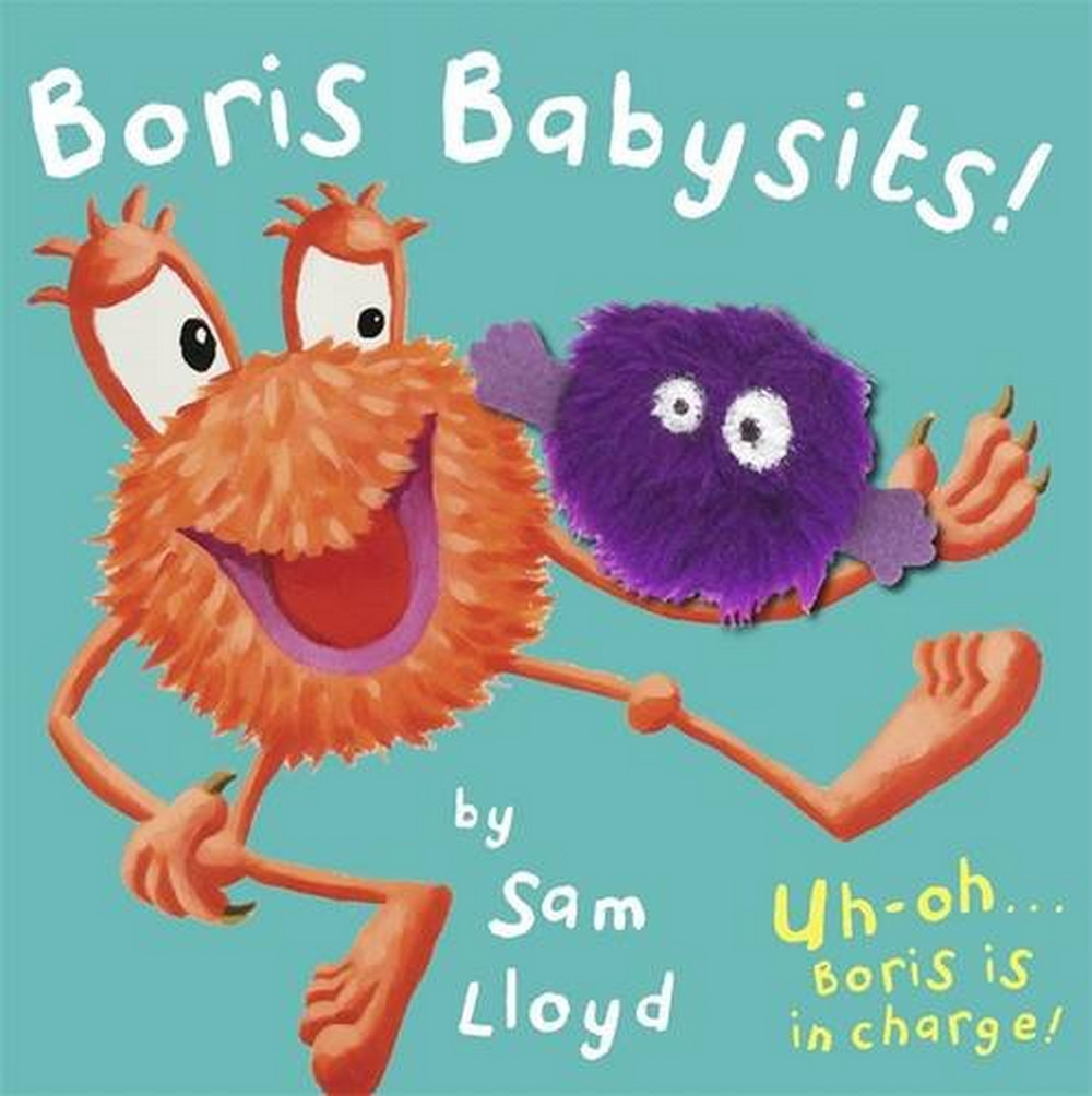 Boris Babysits: Cased Board Book with Puppet (Sam Lloyd Series)