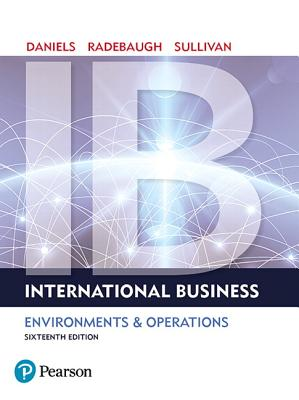 International Business: Environments & Operations