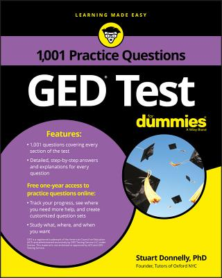 1,001 GED Test Practice Questions for Dummies