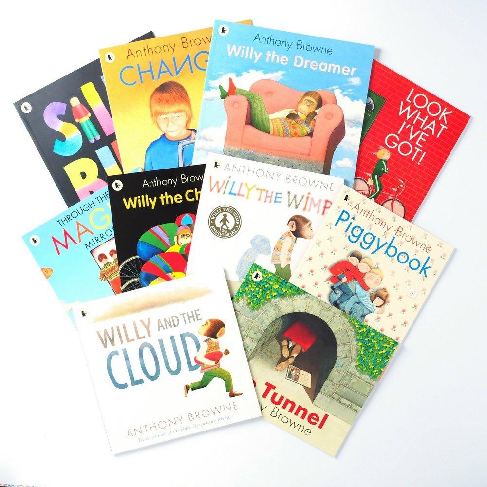 Anthony Browne picture books set 安東尼布朗精選繪本套書