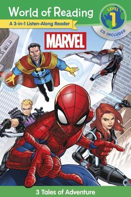 World of Reading: Marvel Level 3合1故事集(附CD)