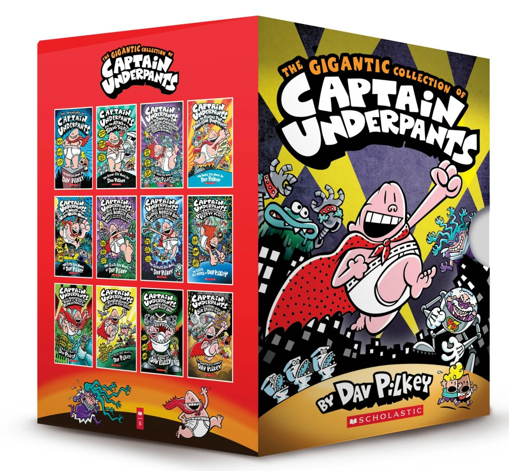 Gigantic Collection of Captain Underpants (12 books)