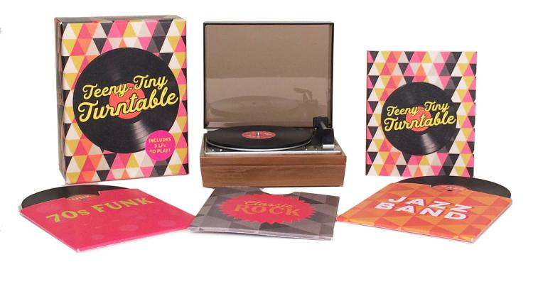 Teeny-Tiny Turntable: Includes 3 LPs to Play!