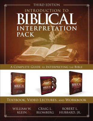 Introduction to Biblical Interpretation Pack: A Complete Guide to Interpreting the Bible