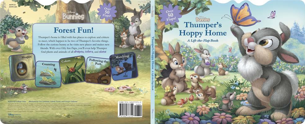 Thumper's Hoppy Home: A Lift-the-Flap Book