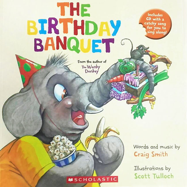 Birthday Banquet (Book + CD)