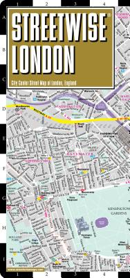 Streetwise London Map: City Center Street Map of London, England