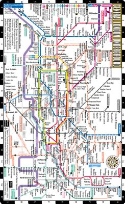 Streetwise Central London Underground Map