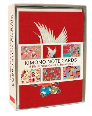 Kimono Note Cards: 6 Blank Note Cards & Envelopes