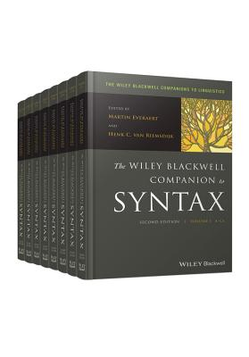The Wiley Blackwell Companion to Syntax