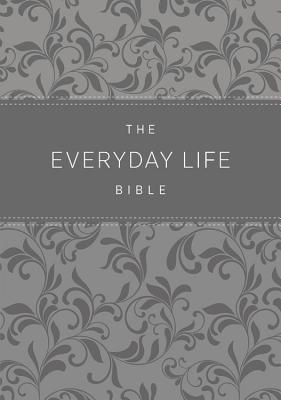 The Everyday Life Bible: Amplified Old & New Testament, Grey Euroluxe, Fashion Edition, Silver Edge, Ribbon Marker