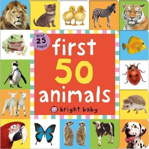 Bright Baby Lift the Flap: First 50 Animals