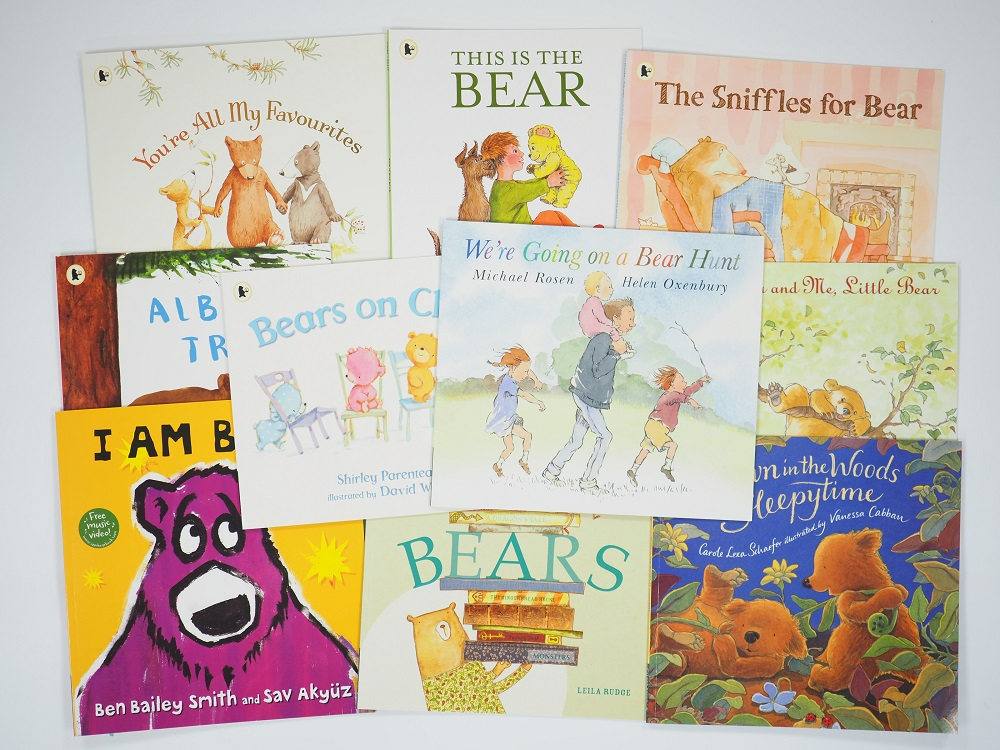 The Best of the Bears: Ten brilliant books for bear cubs of all ages