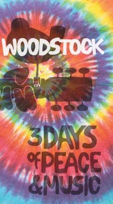 Woodstock Tie-dye Logo Journal: Lined