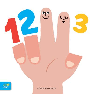 123 Lift & Learn: Interactive Flaps Reveal Basic Concepts for Toddlers
