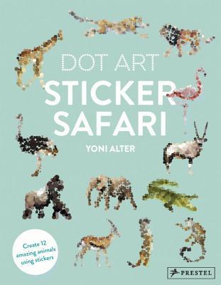 Dot Art Sticker Safari